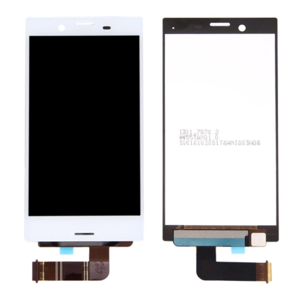 Sony Xperia X Compact LCD displej dotykové sklo komplet přední panel bílý F5321