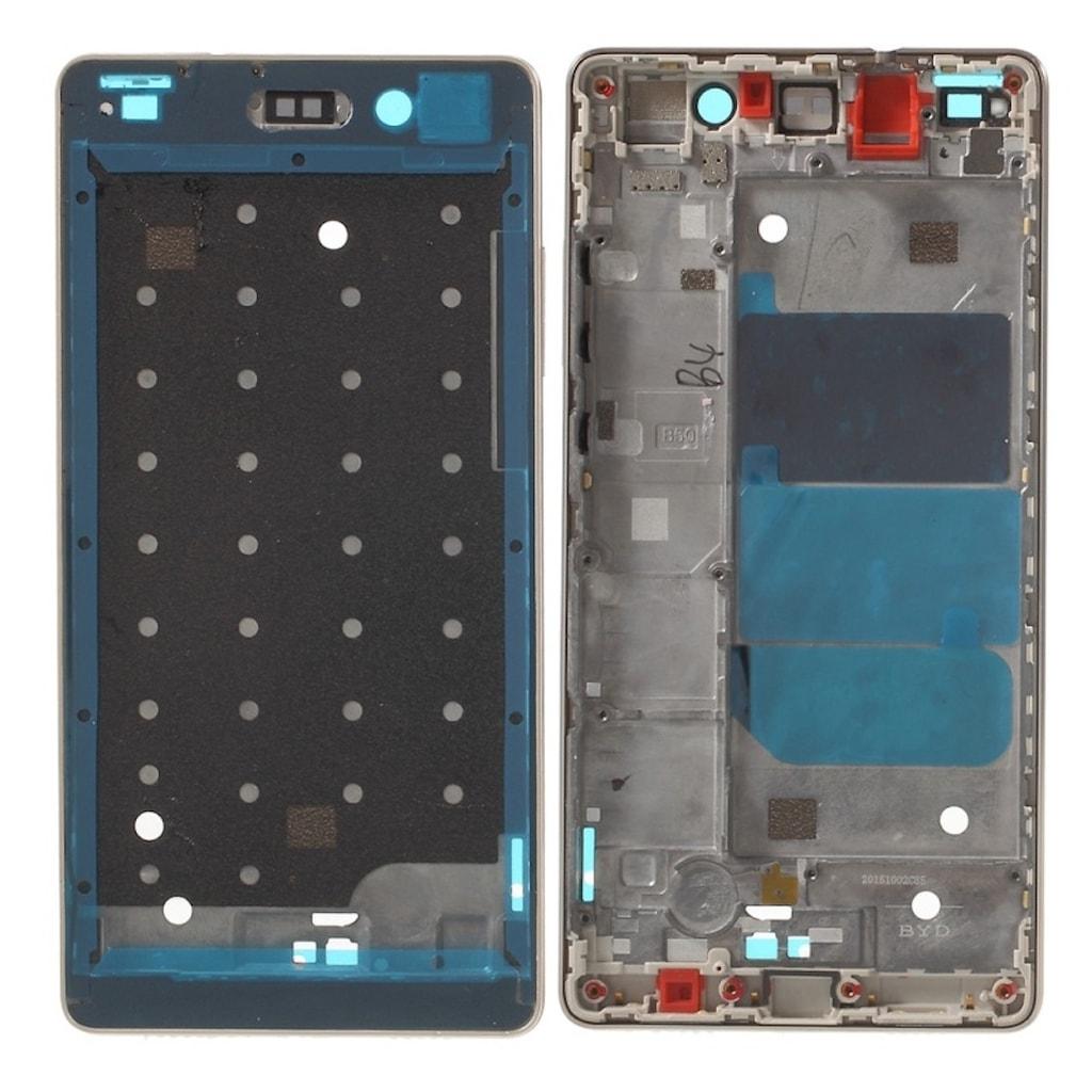 Huawei P8 Lite střední rámeček LCD zlatý