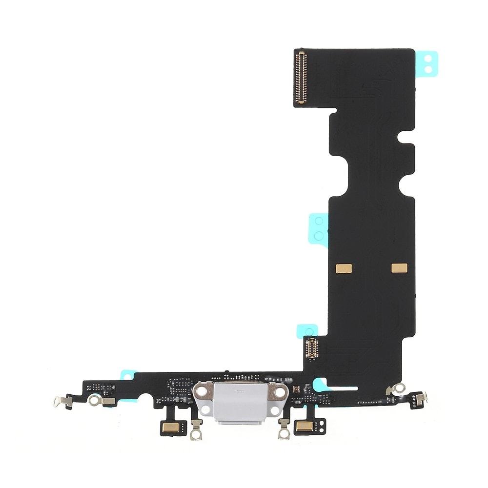 Apple iPhone 8 Plus dock konektor nabíjení napájecí flex lightning port sluchátka bílý