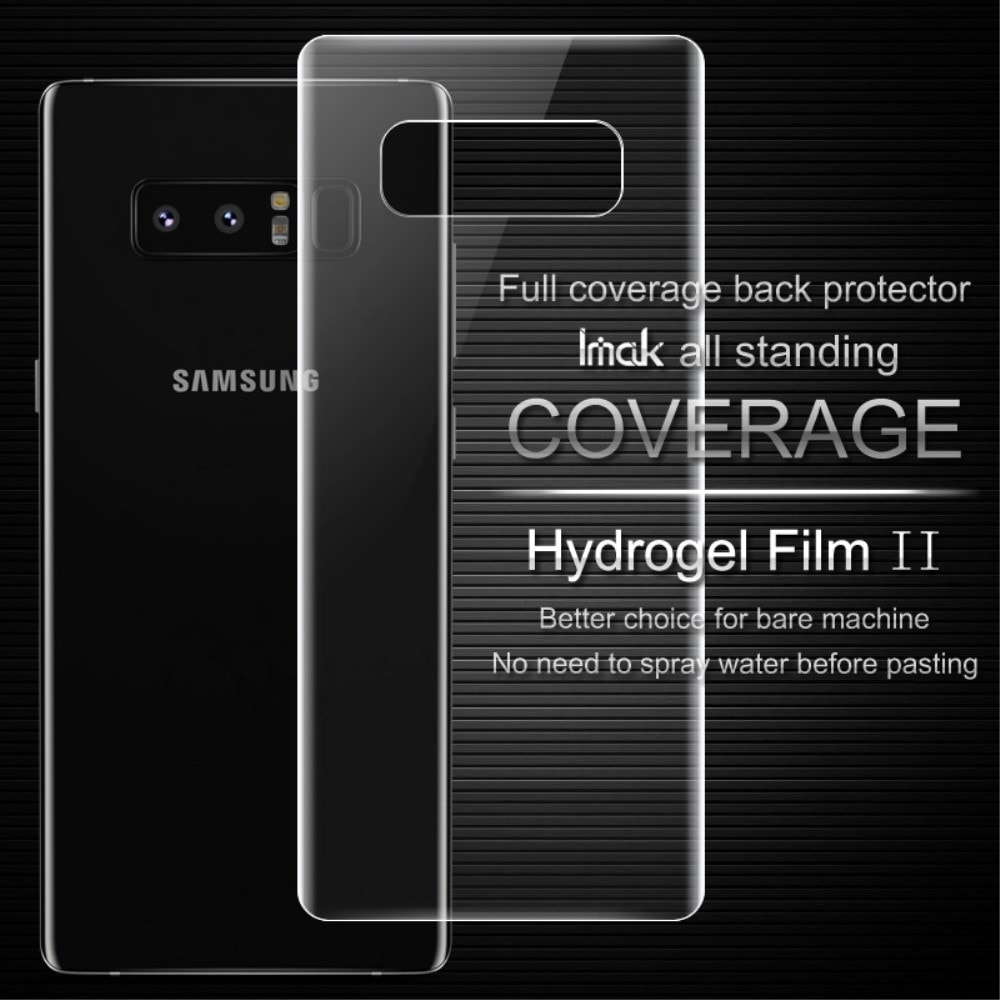 Samsung Galaxy Note 8 IMAK Ochranná transparentní Hydrogel folie na zadní kryt baterie