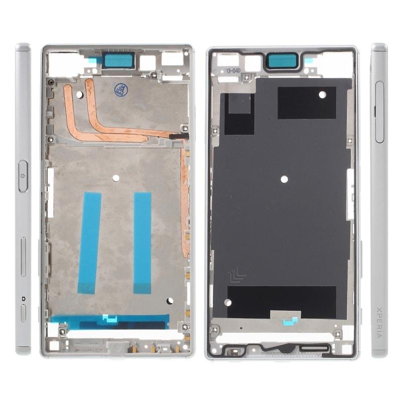 Sony Xperia Z5 střední rámeček LCD stříbrný E6653