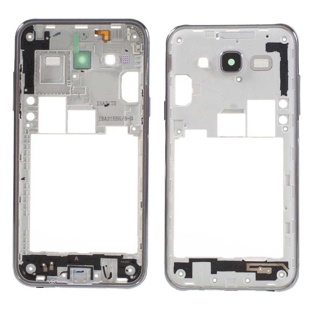 Samsung Galaxy J5 2015 středový rámeček telefonu střední kryt šedý J500F