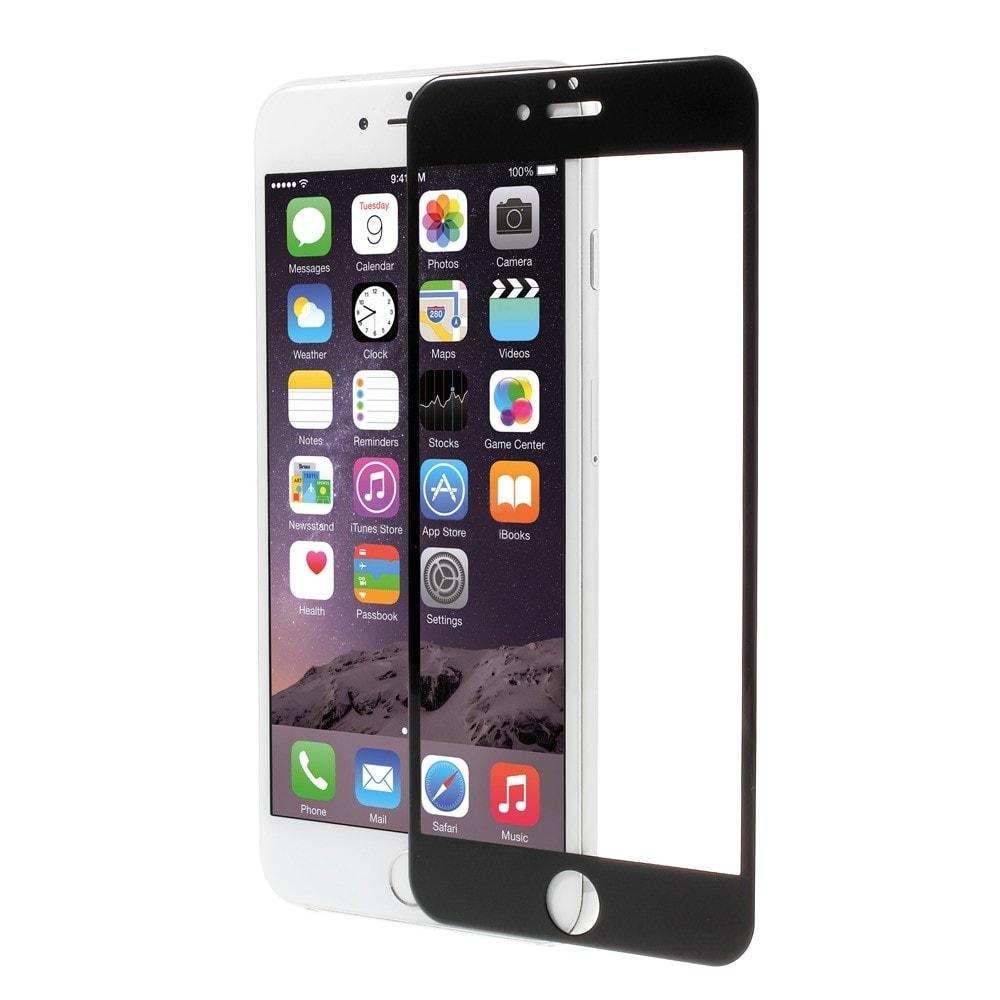 Apple iPhone 6 / 6S 3D Ochranné tvrzené sklo černé