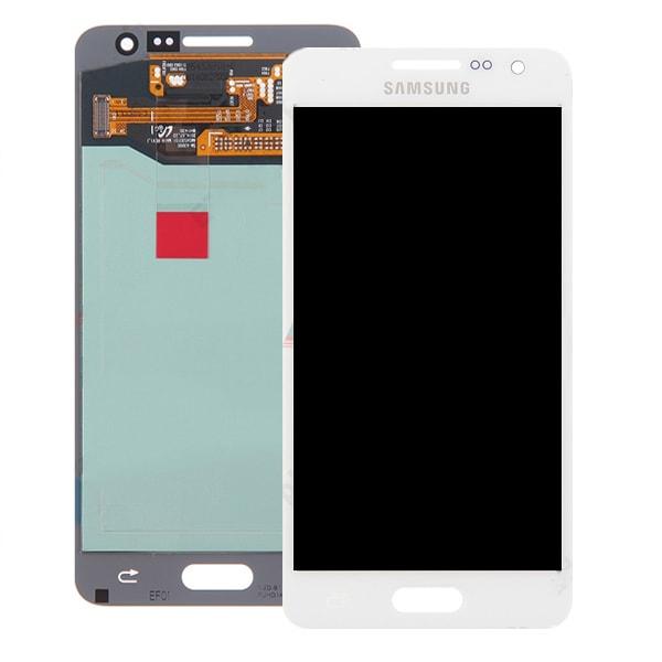 Samsung Galaxy A3 2015 LCD displej dotykové sklo bílé A300F