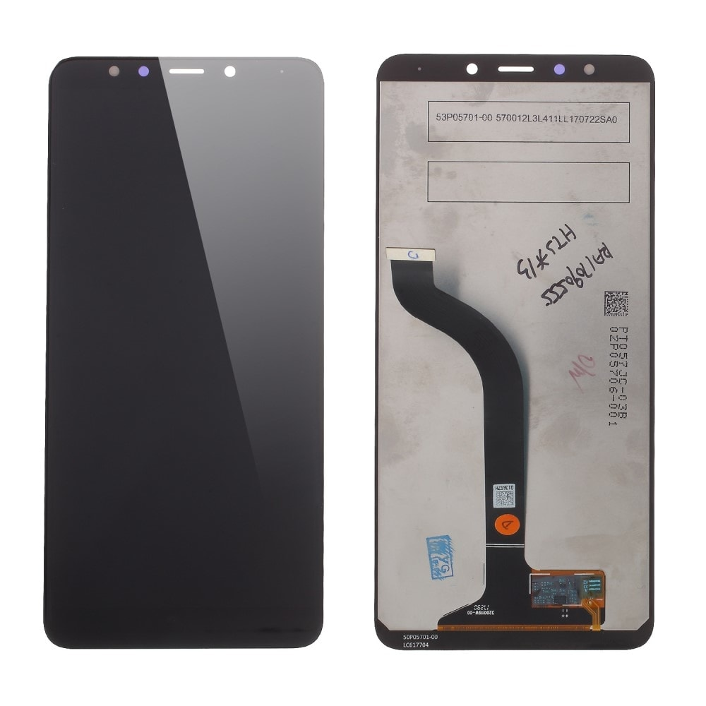 Xiaomi Redmi 5 LCD displej dotykové sklo komplet přední panel černý