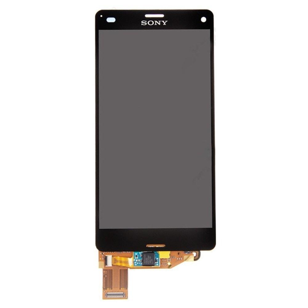 Sony Xperia Z3 compact LCD displej černý dotykové sklo komplet D5803