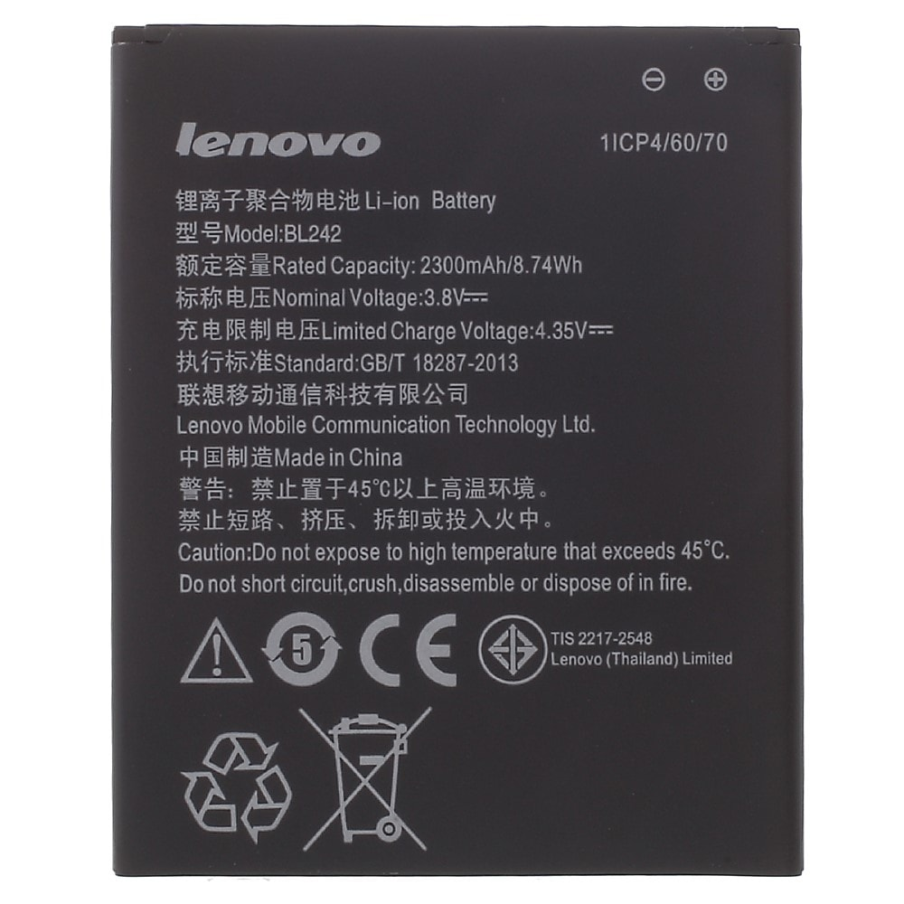 Lenovo Vibe K3 Music Lemon baterie BL242 A3860 A3580 A3900