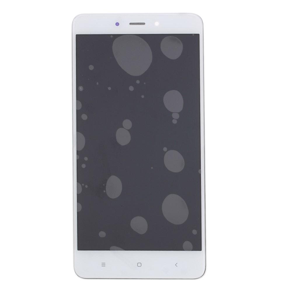 Xiaomi Redmi Note 4 / 4X LCD displej komplet dotykové sklo bílý včetně rámečku