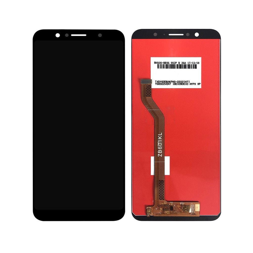 Asus Zenfone Max Pro LCD displej dotykové sklo komplet přední panel černý (M1) ZB601KL ZB602KL