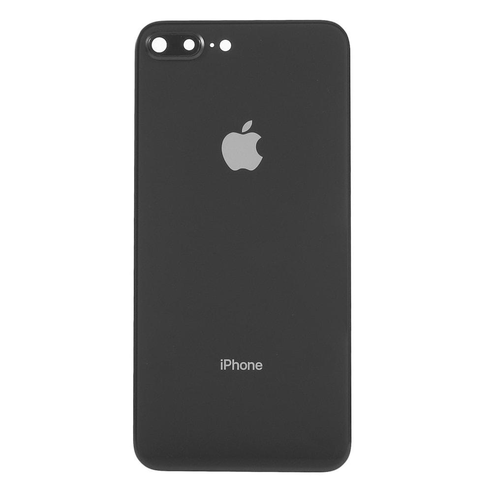 Apple iPhone 8 Plus zadní skleněný kryt baterie včetně krytky fotoaparátu černý