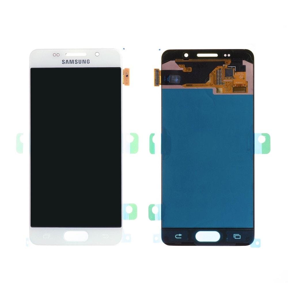 Samsung Galaxy A3 2016 LCD displej dotykové sklo bílé A310F