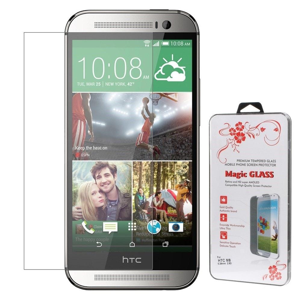 HTC One M8 Ochranné tvrzené sklo na displej 0,26mm