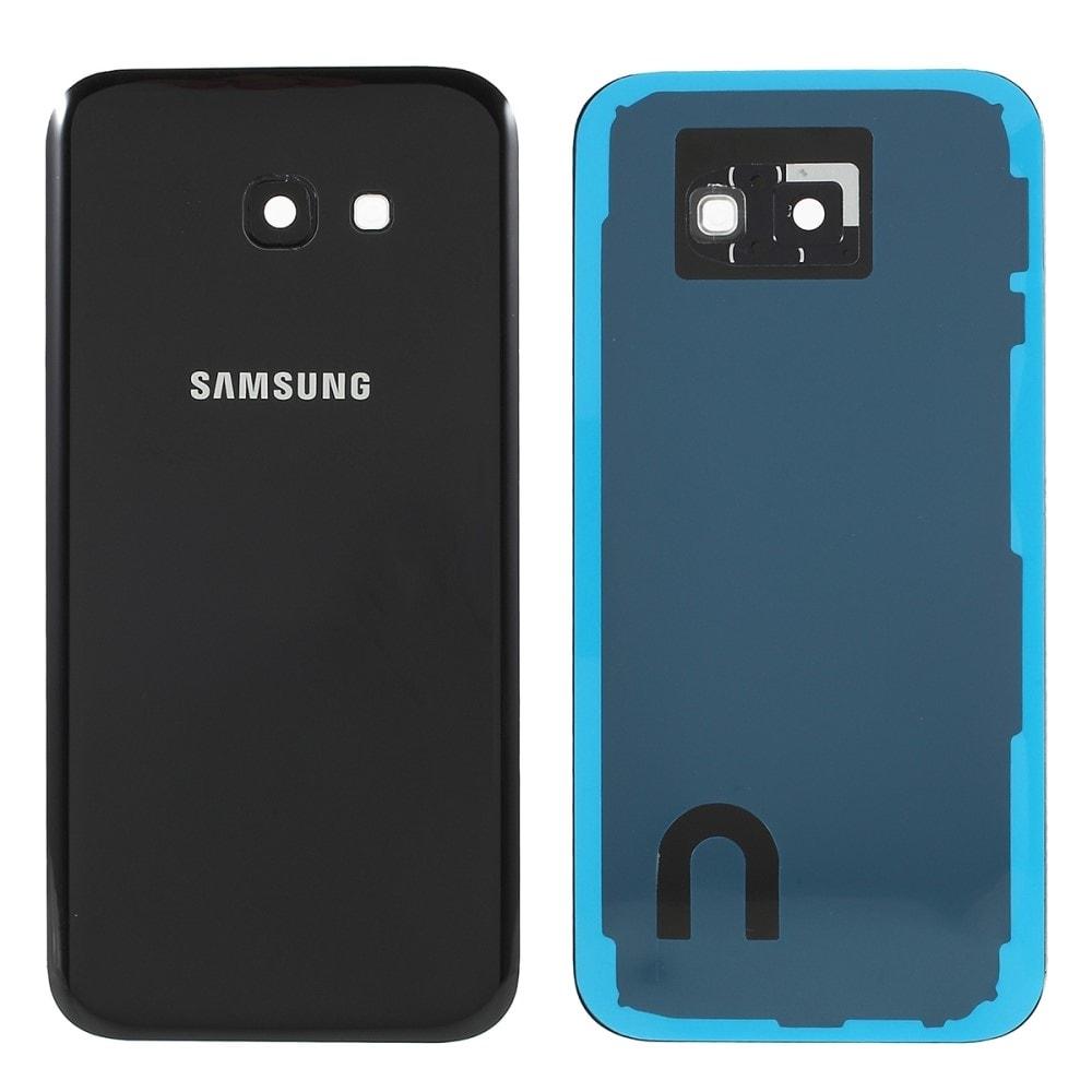 Samsung Galaxy A5 2017 zadní kryt baterie černý osázený včetně krytky fotoaparátu A520F