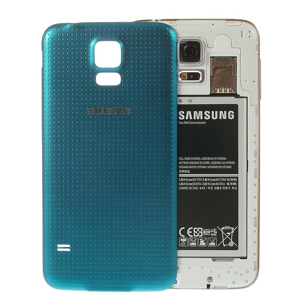 Samsung Galaxy S5 zadní kryt baterie modrý G900