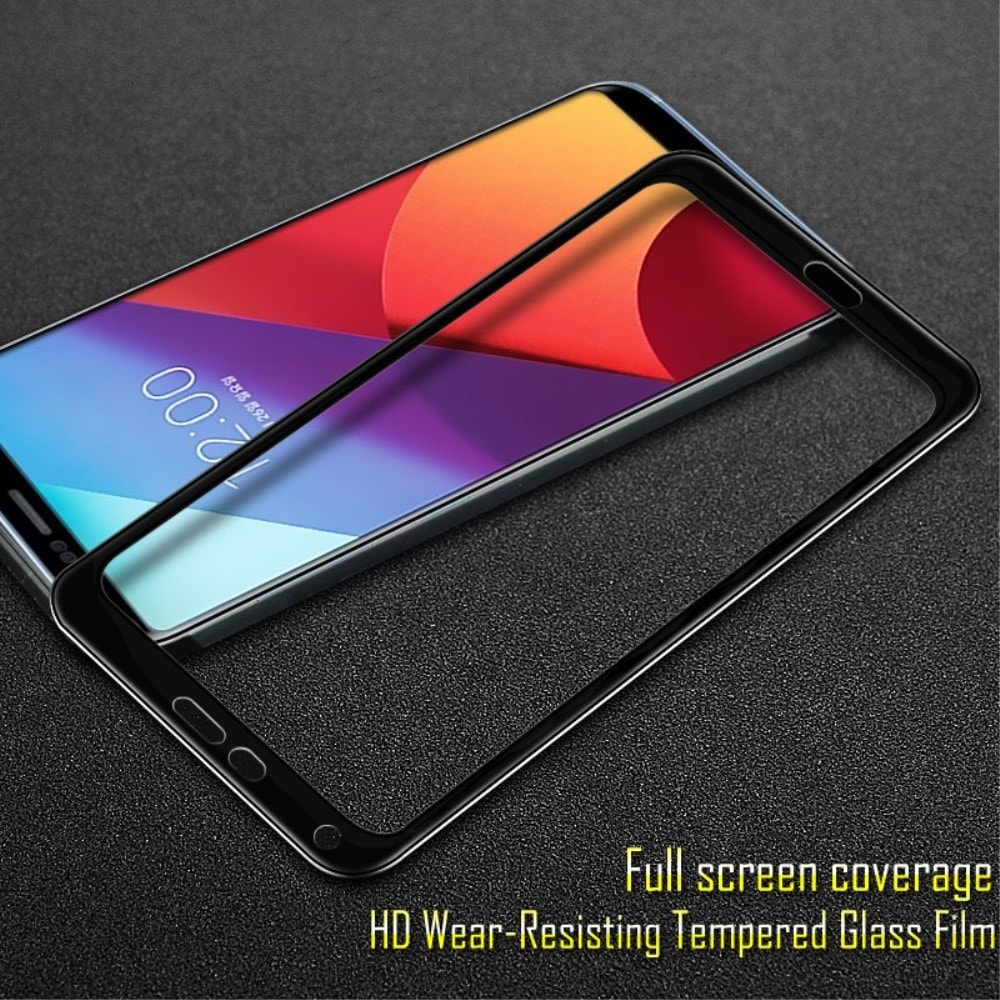 LG G6 Ochranné tvrzné sklo na displej 3D černé