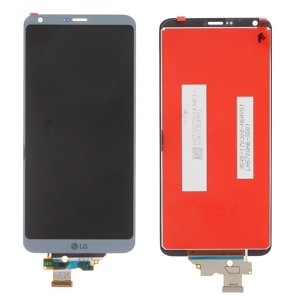 LG G6 LCD displej dotykové sklo komplet modrý H870
