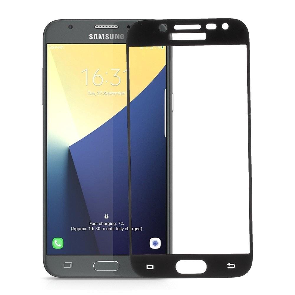 Samsung Galaxy J5 2017 Ochranné tvrzené sklo 3D černé J530F