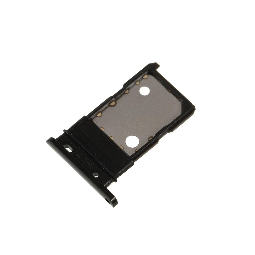 Google Pixel 3 XL šuplík na SIM SD kartu černý