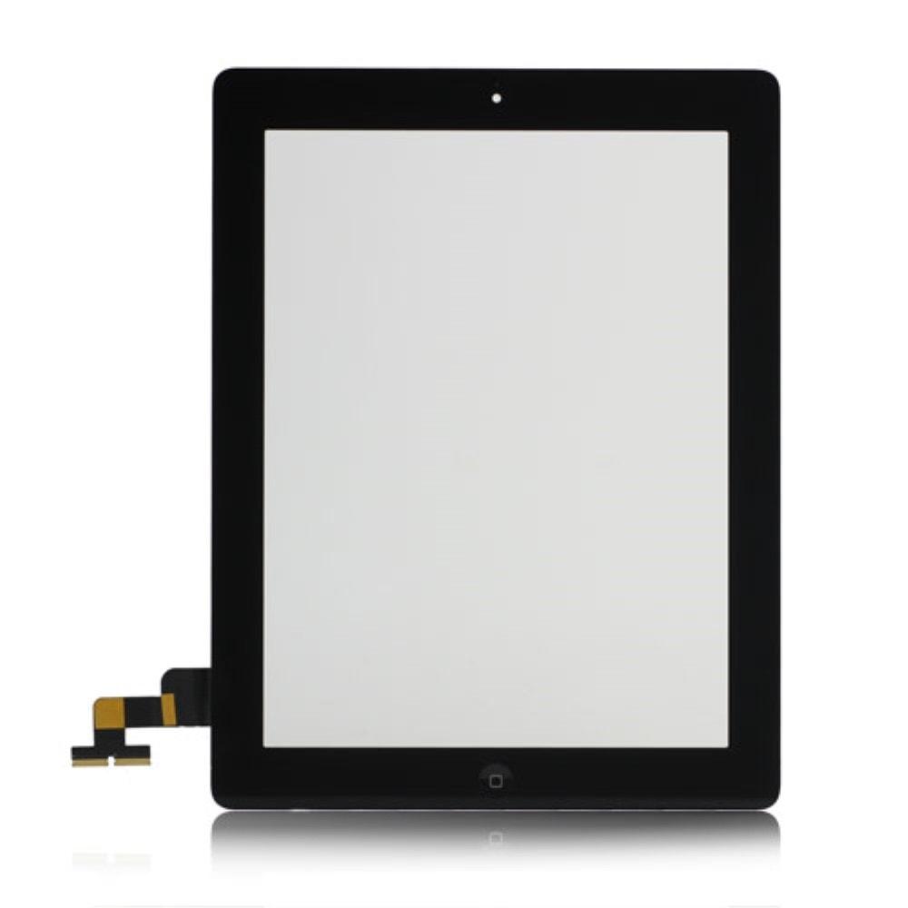 Apple iPad 2 dotykové sklo černé digitizer