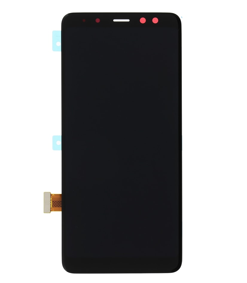 Samsung Galaxy A8 2018 LCD displej dotykové sklo černé A530F