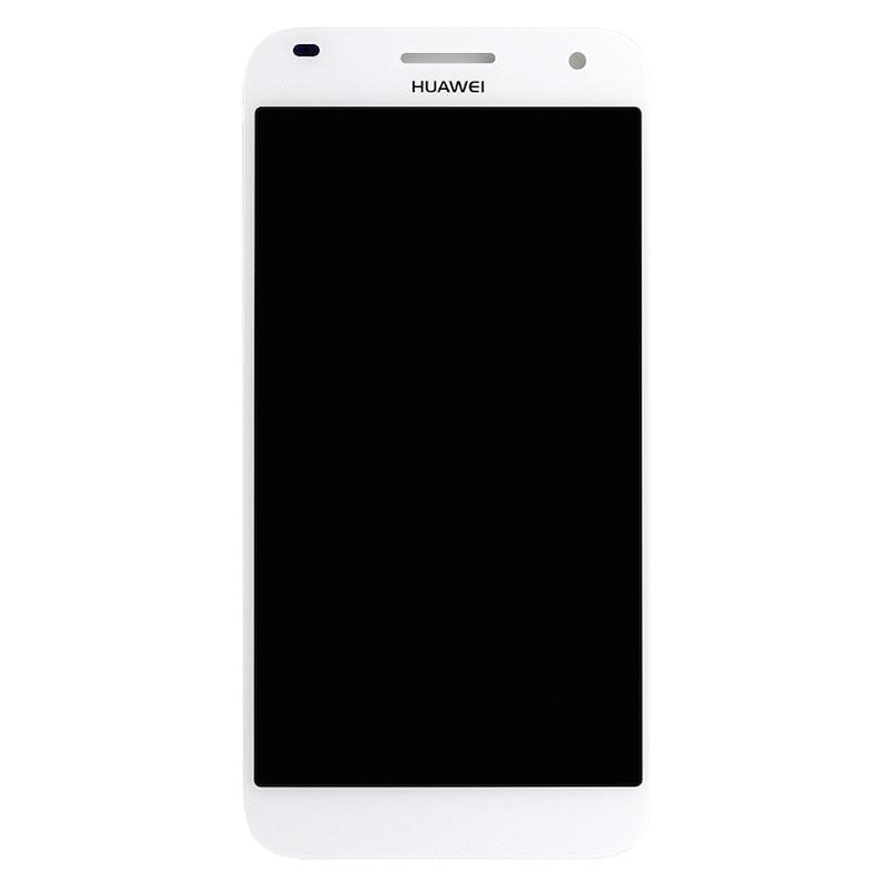Huawei G7 LCD displej bílý + dotykové sklo komplet