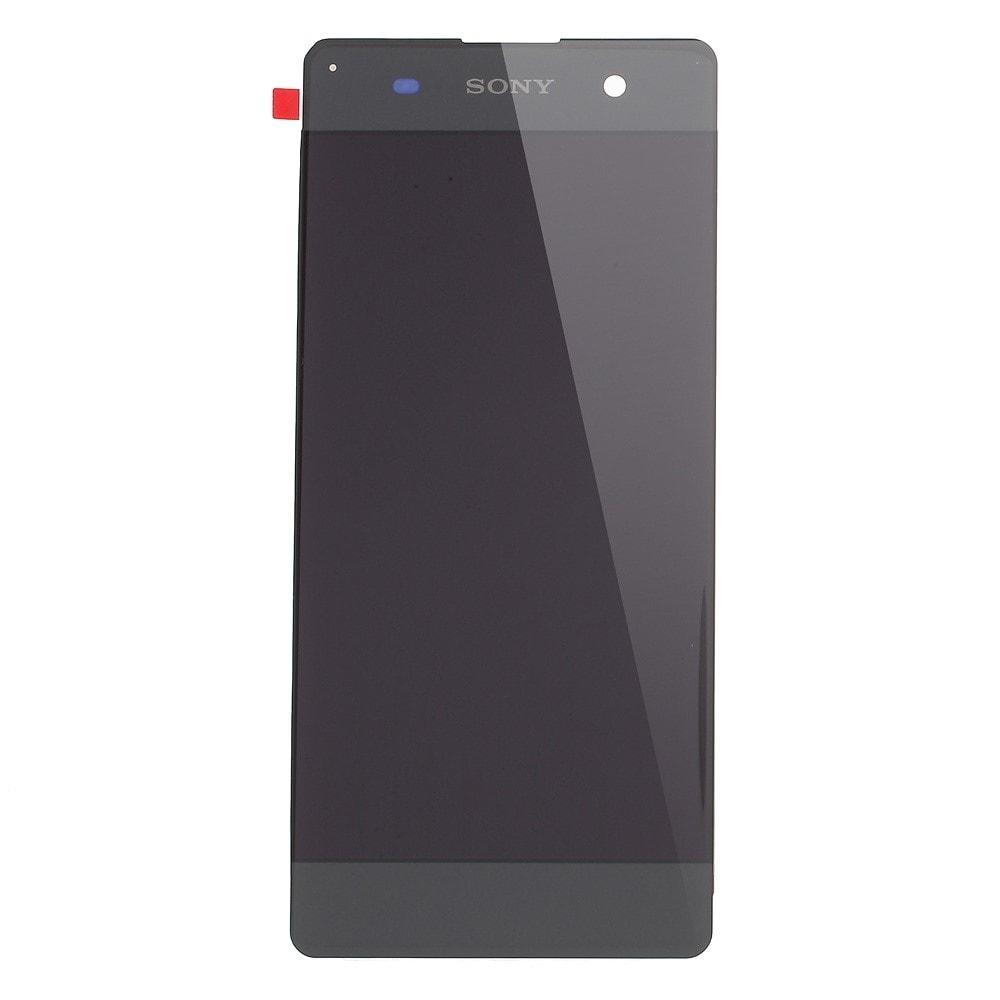 Sony Xperia XA LCD displej komplet dotykové sklo grafitově černé včetně rámečku F3111