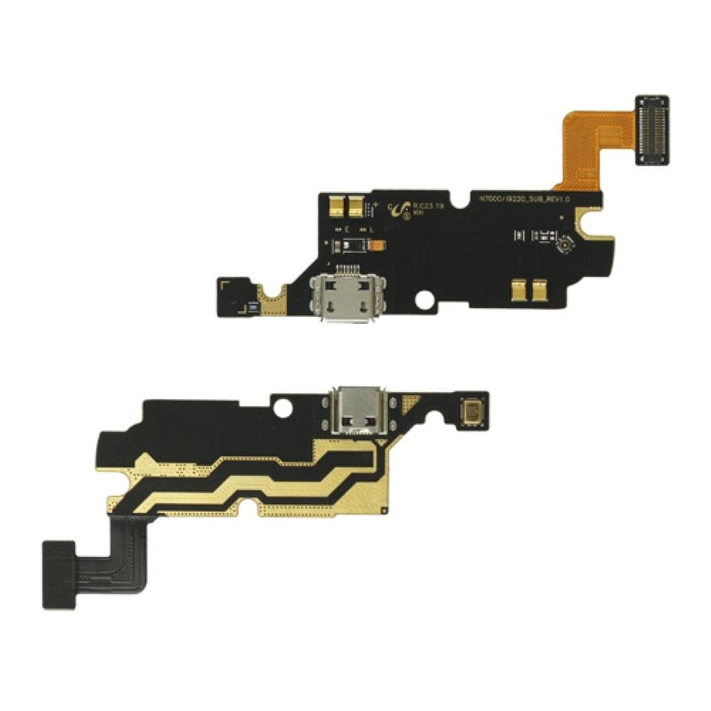 Samsung Galaxy Note 1 napájecí usb konektor nabíjení SUB dock flex N7000 i9220