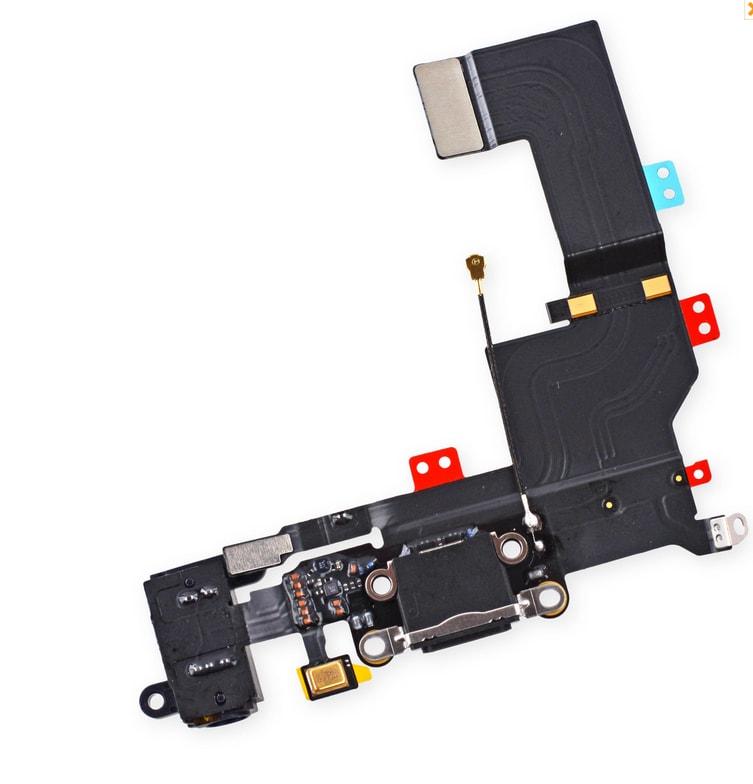 Apple iPhone 5S dock konektor nabíjení mikrofon anténa černý