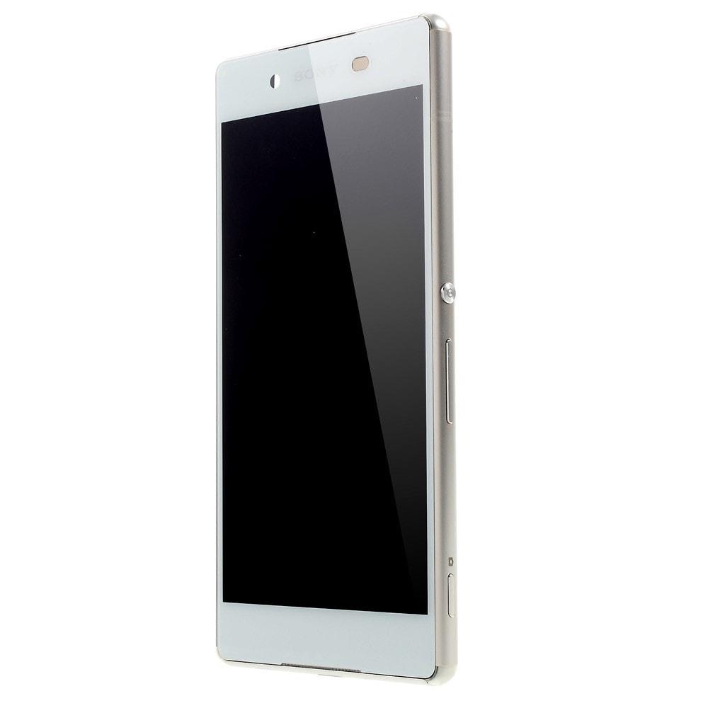 Sony Xperia Z3 Plus LCD displej komplet s rámečkem bílý E6553