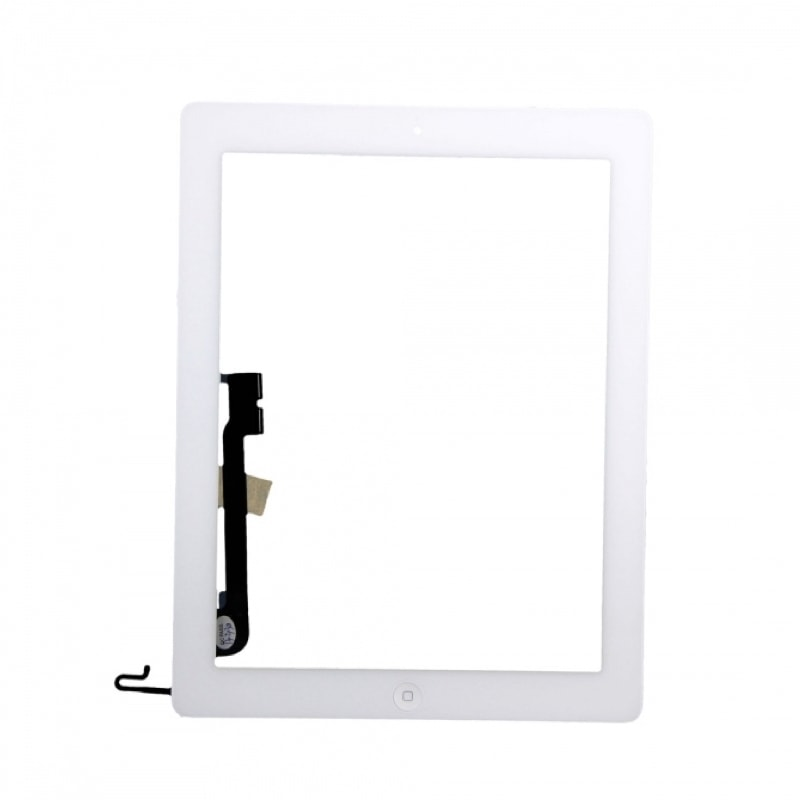 Apple iPad 4 dotykové sklo bílé