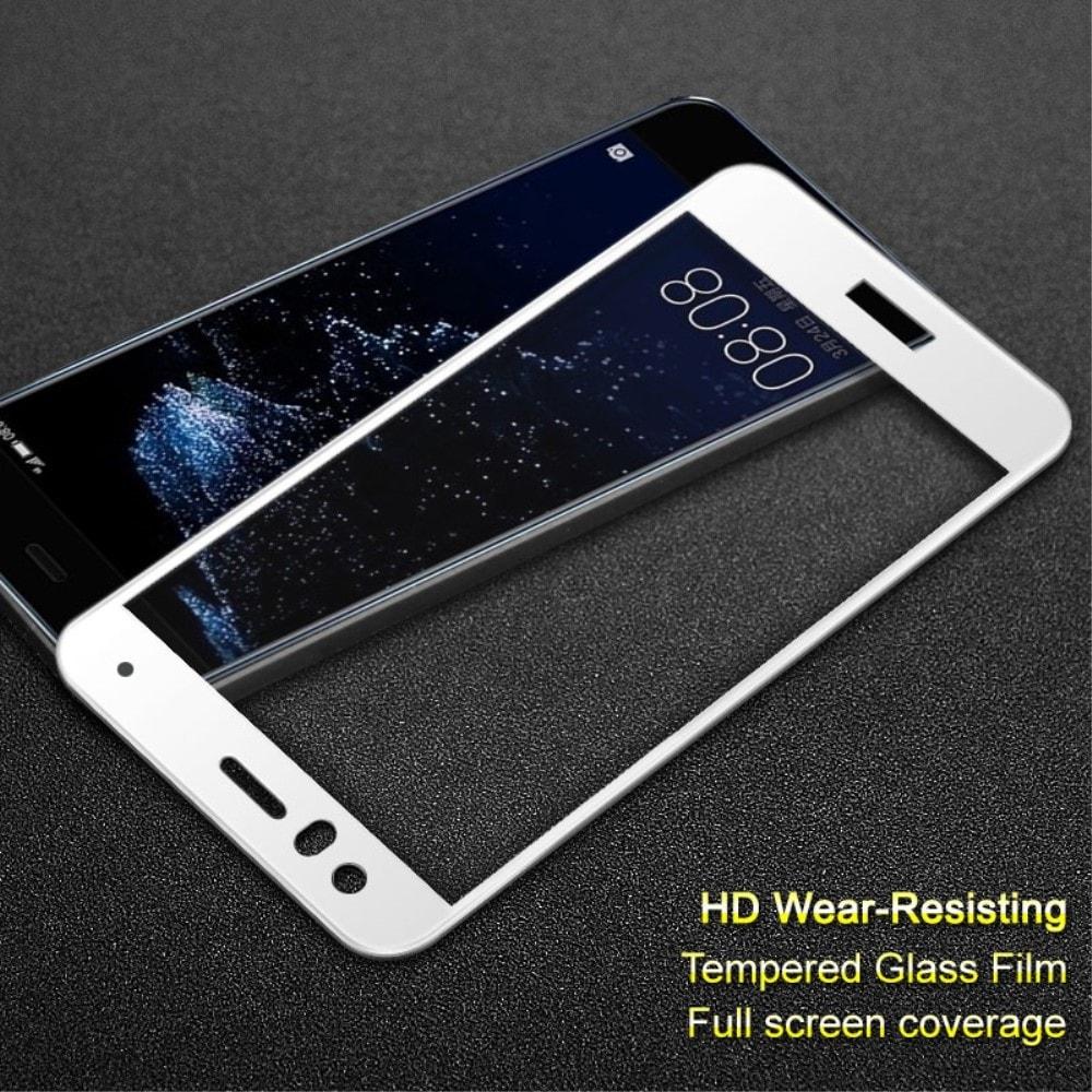 Huawei P10 Lite Ochranné tvrzené sklo 3D bílé