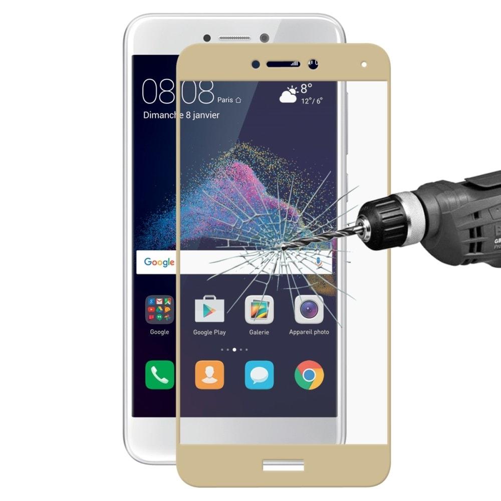 Huawei P9 Lite 2017 / Honor 8 Lite Ochranné tvrzené sklo na celou přední plochu 3D zlaté