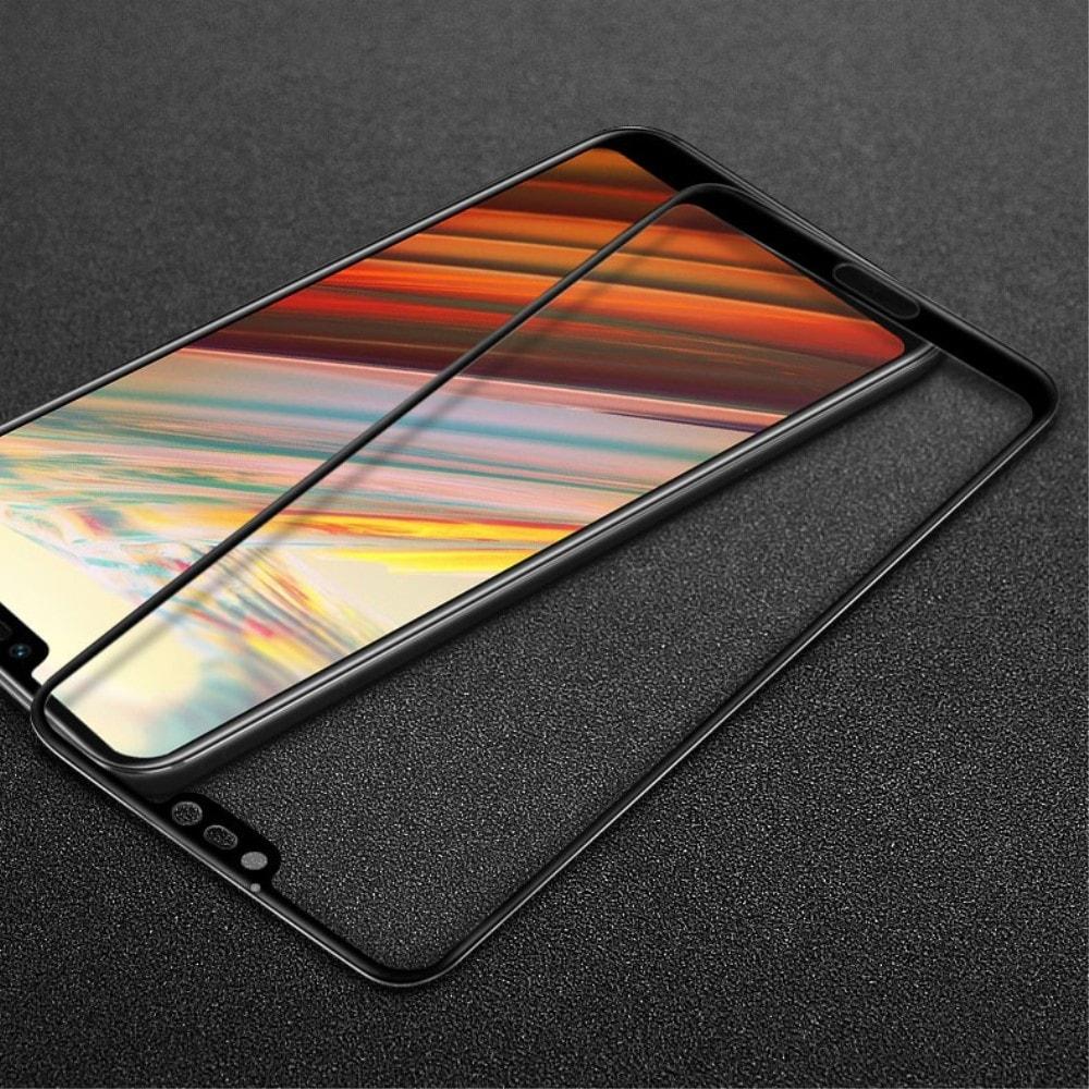 Honor 10 Ochranné tvrzené sklo 3D černé