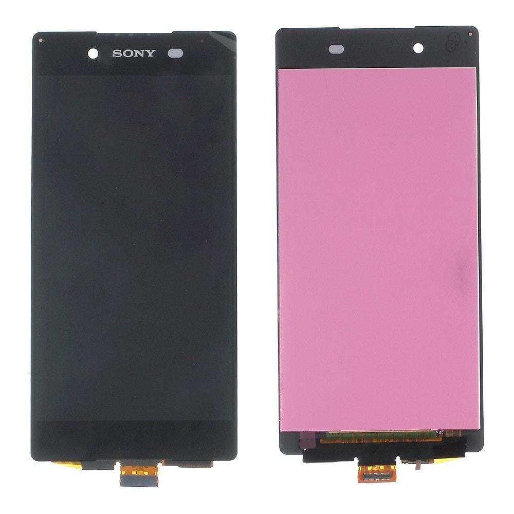 Sony Xperia Z3 Plus LCD displej černý dotykové sklo komplet E6553