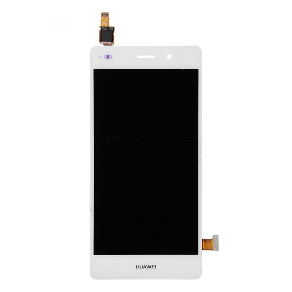 Huawei P8 Lite LCD displej bílý dotykové sklo
