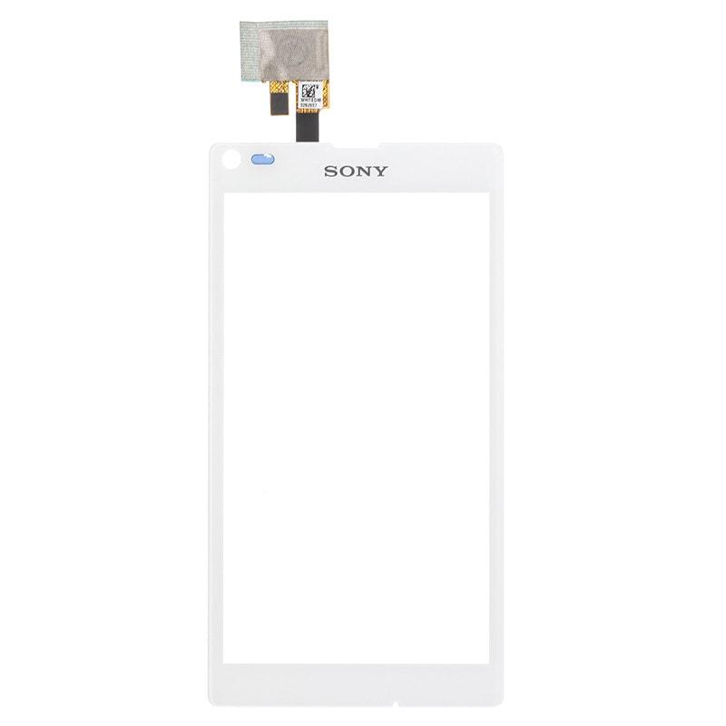 Sony Xperia L dotykové sklo bílé C2105