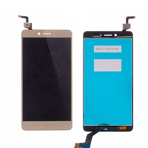 Lenovo K6 Note LCD displej dotykové sklo zlaté