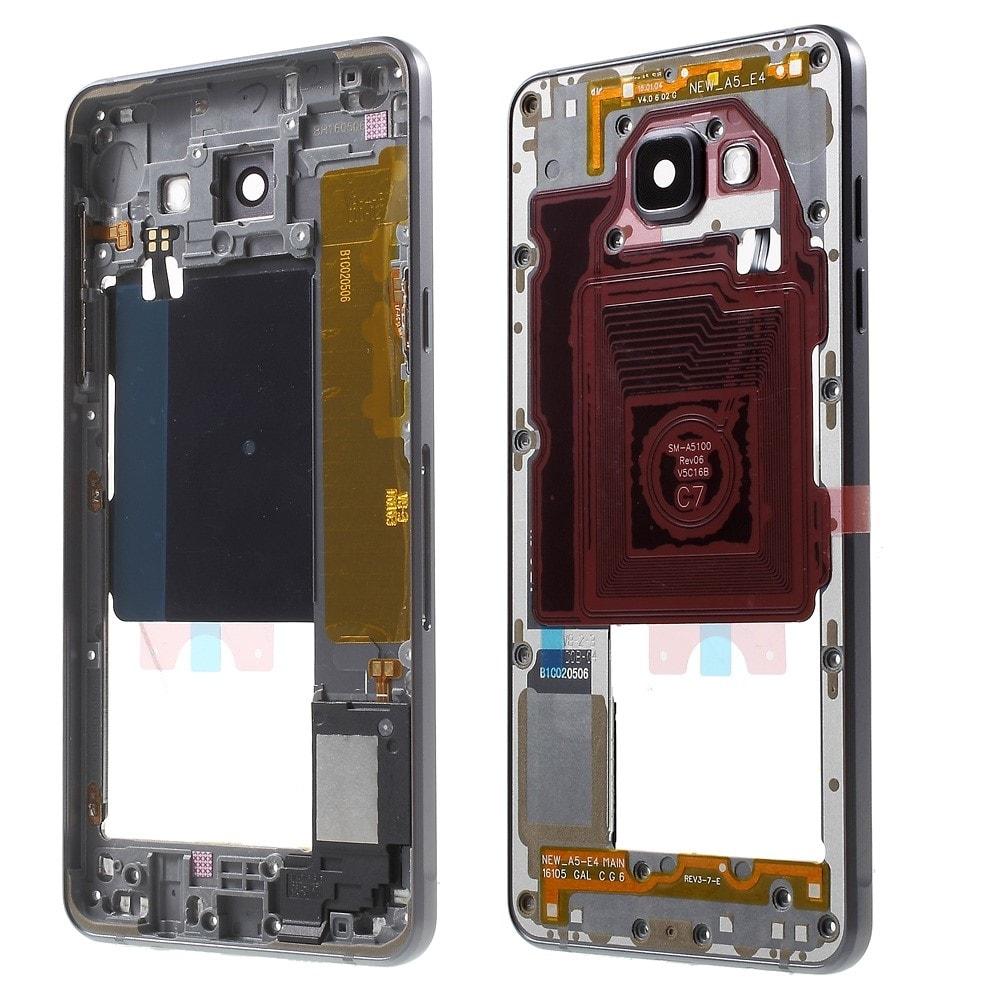 Samsung Galaxy A5 2016 střední kryt středový rámeček šedý A510F