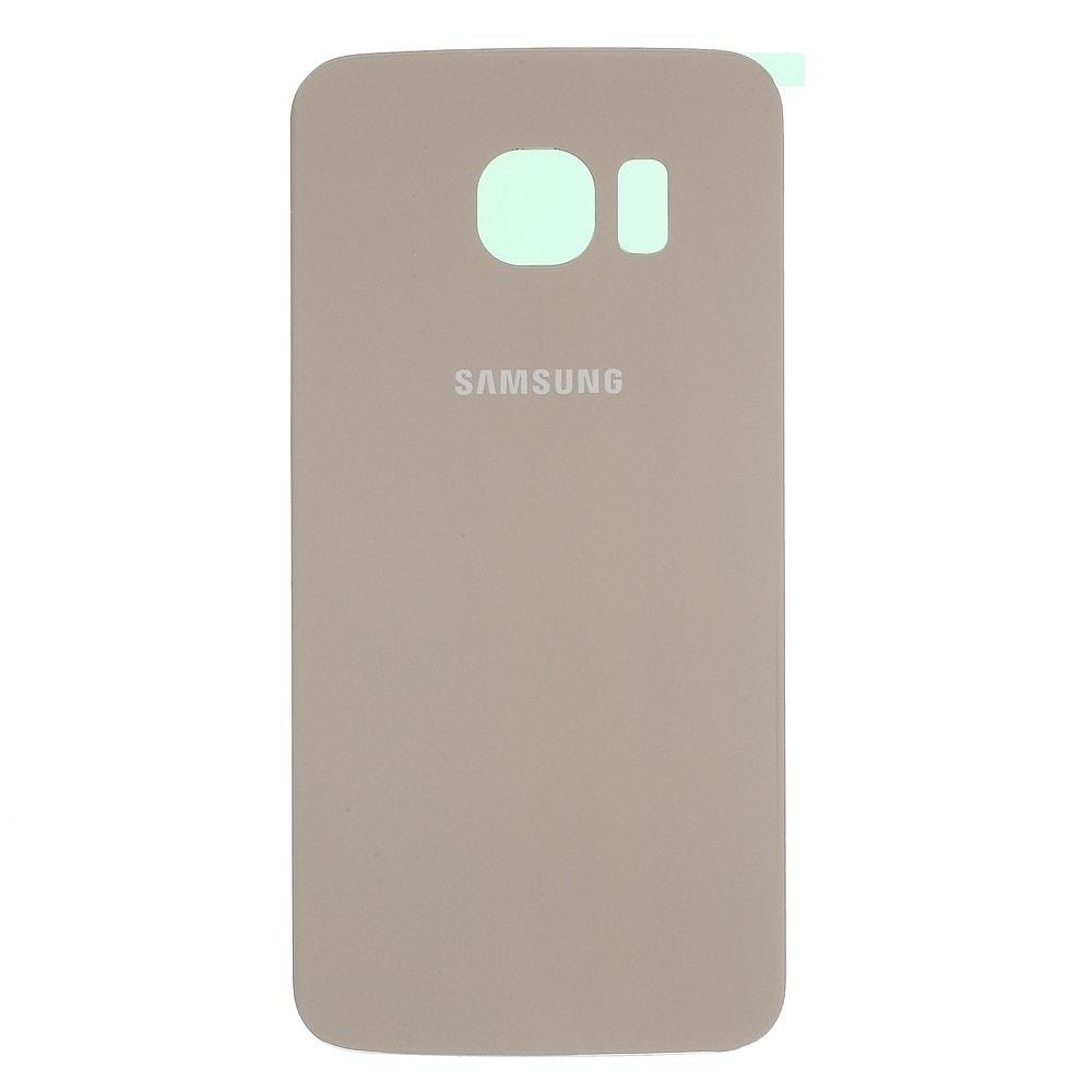 Samsung Galaxy S6 Edge zadní kryt baterie zlatý G925F