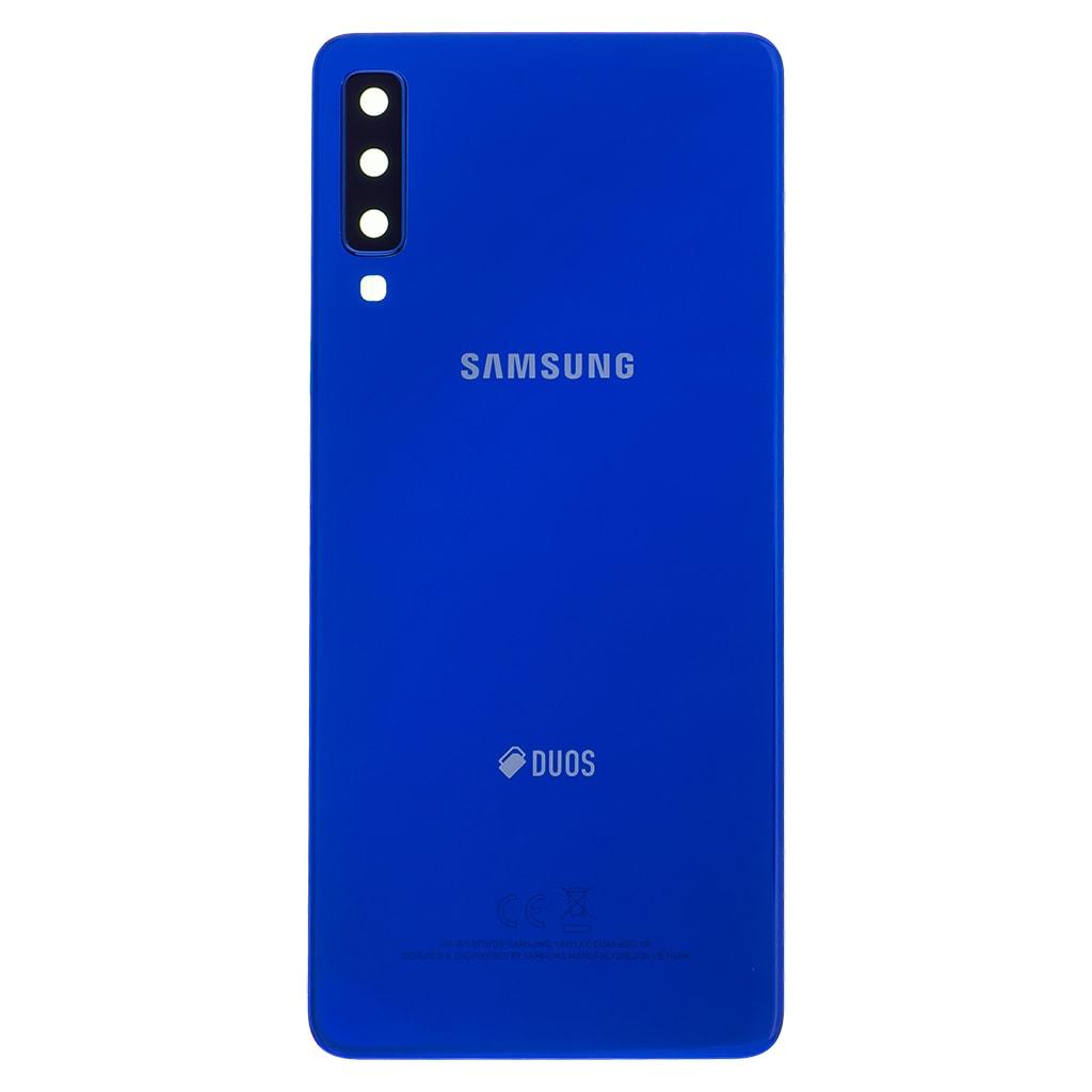 Samsung Galaxy A7 2018 zadní kryt baterie modrý A750 (Service Pack)