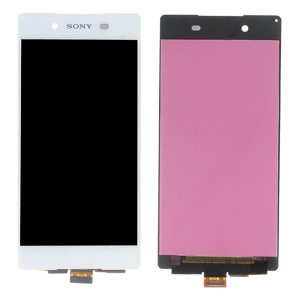 Sony Xperia Z3 Plus LCD displej bílý dotykové sklo komplet E6553