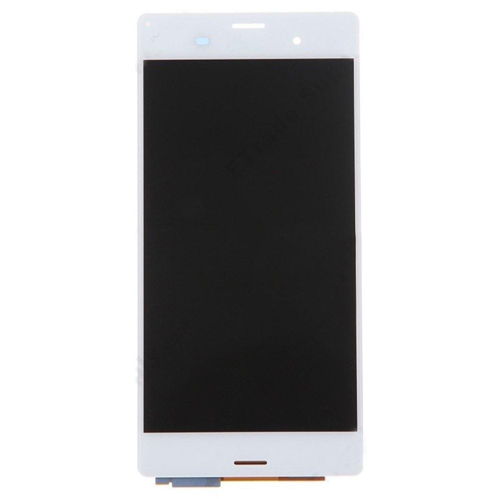Sony Xperia Z3 LCD displej bílý dotykové sklo komplet D6603