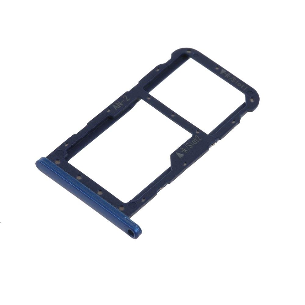 Huawei P20 lite šuplík na SIM SD kartu tray modrý