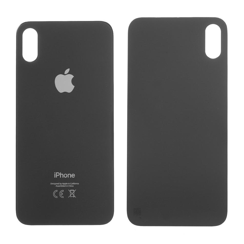 Apple iPhone X zadní skleněný kryt baterie černý space black CE