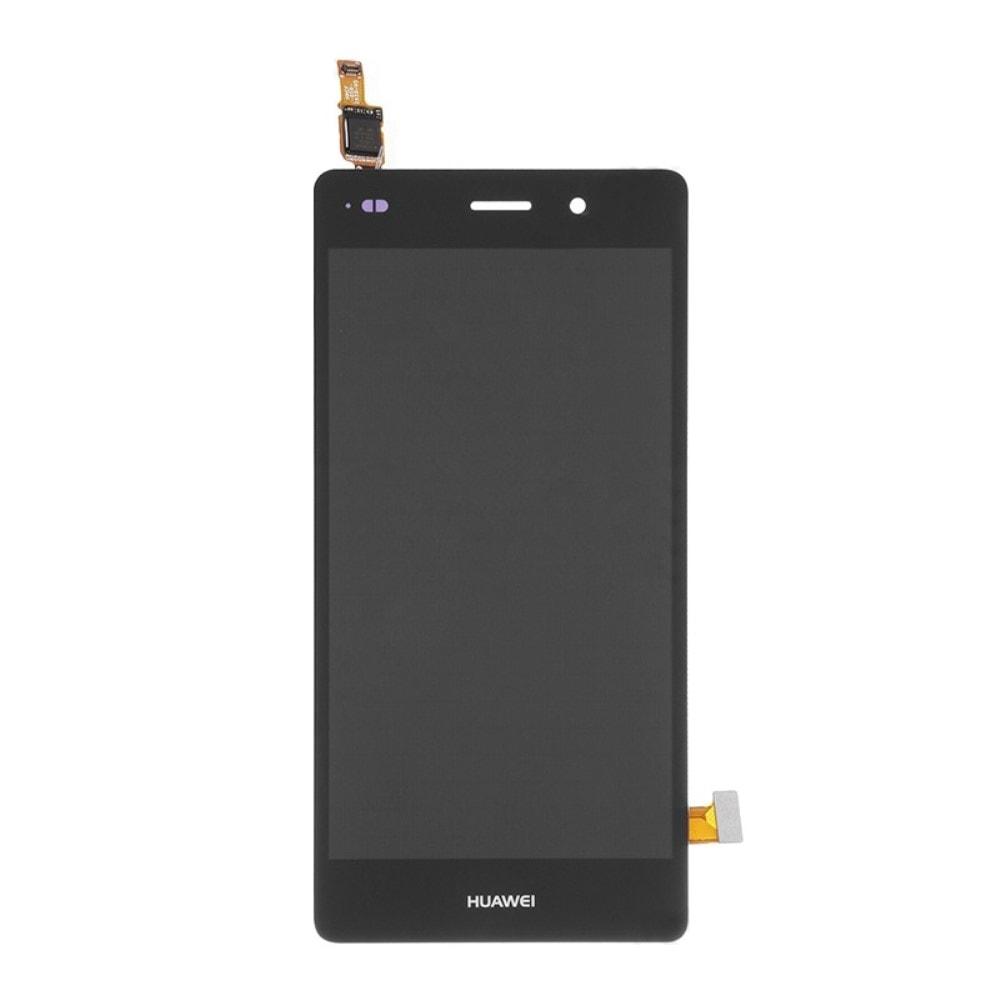 Huawei P8 Lite LCD displej černý dotykové sklo