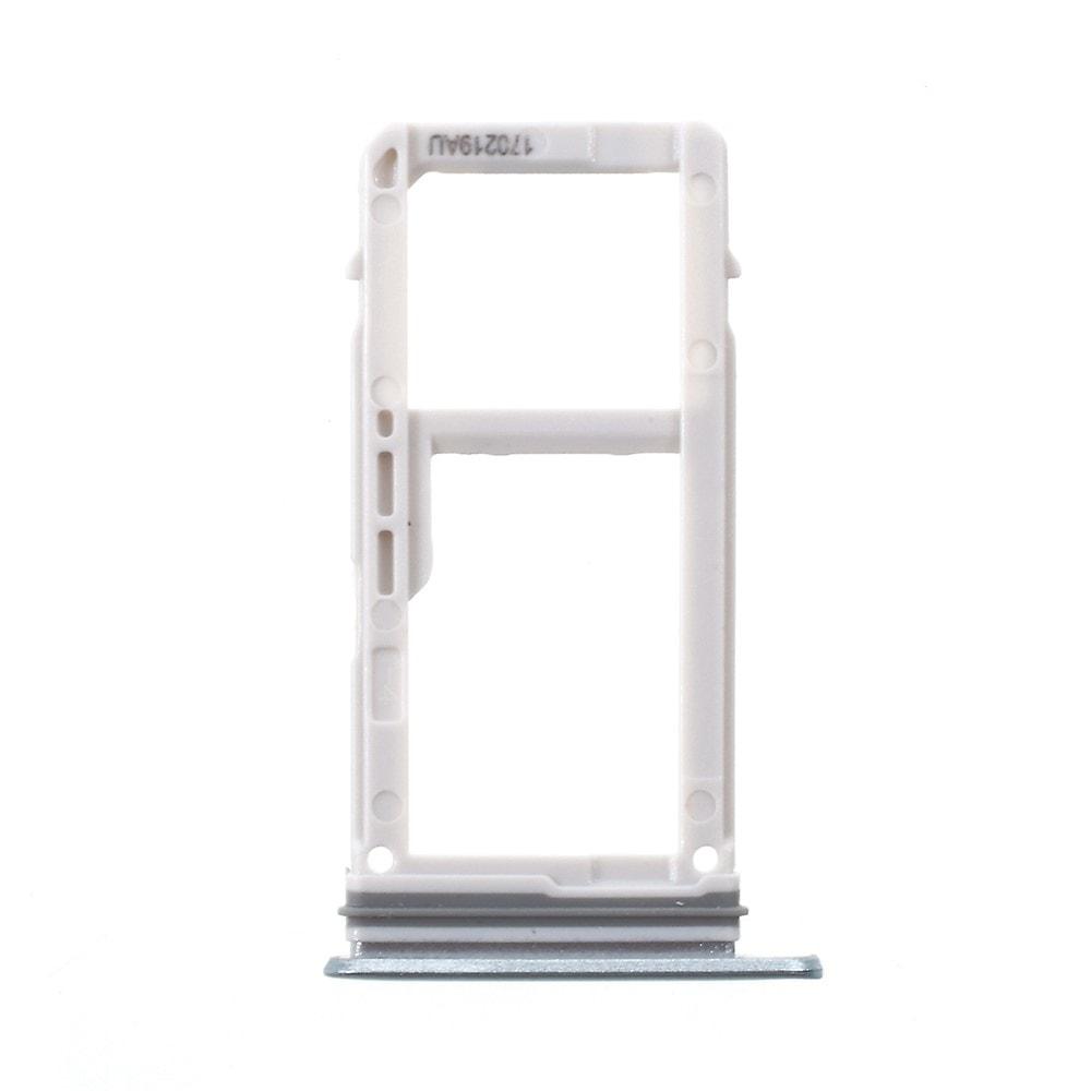 Samsung Galaxy A3 2017 šuplík na SIM kartu SD tray modrý A320F