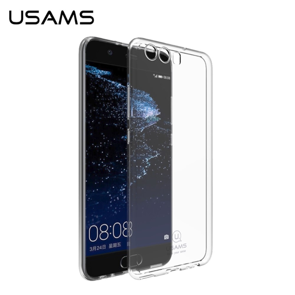 Huawei P10 Plus Ochranný zadní kryt transparentní pouzdro USAMS