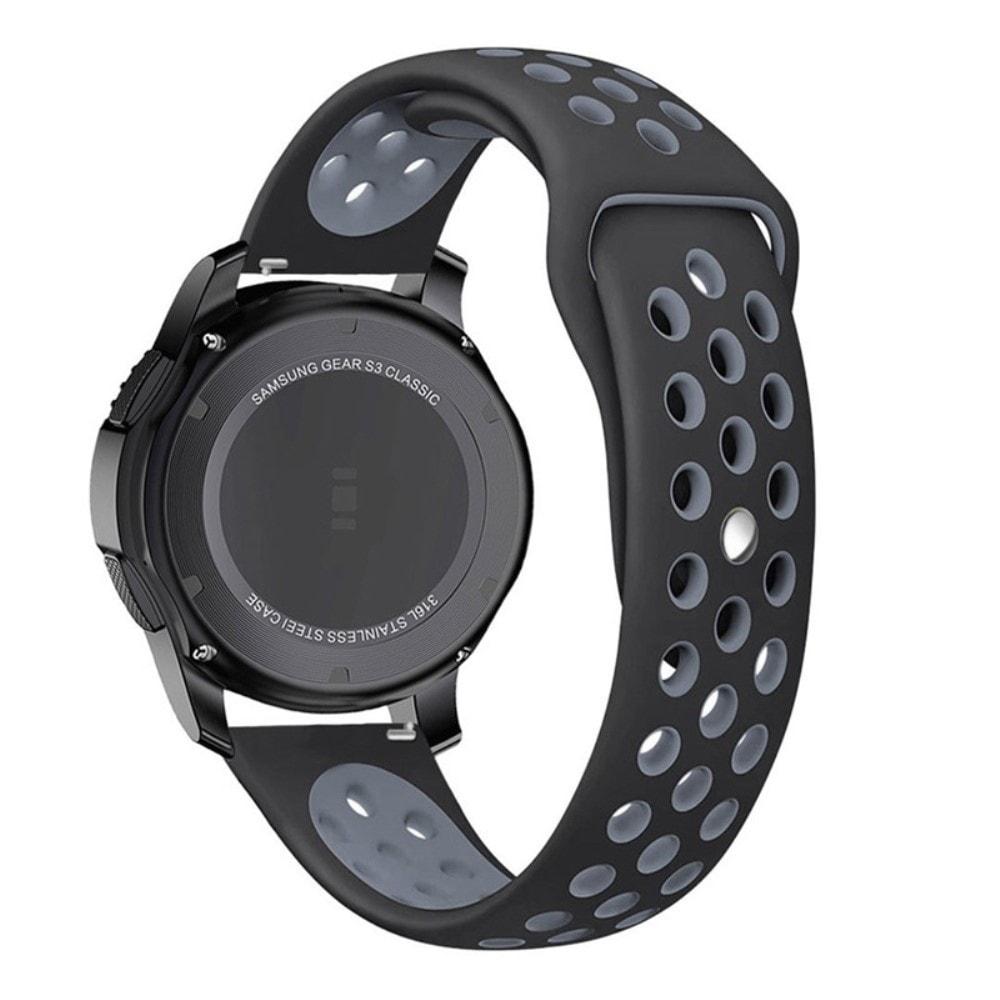 Samsung Gear S3 Frontier řemínek pásek sportovní Nike černo šedý