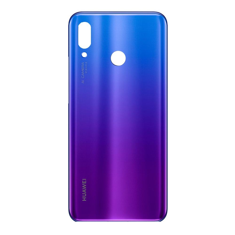 Huawei Nova 3 zadní kryt skleněný fialový Iris Purple