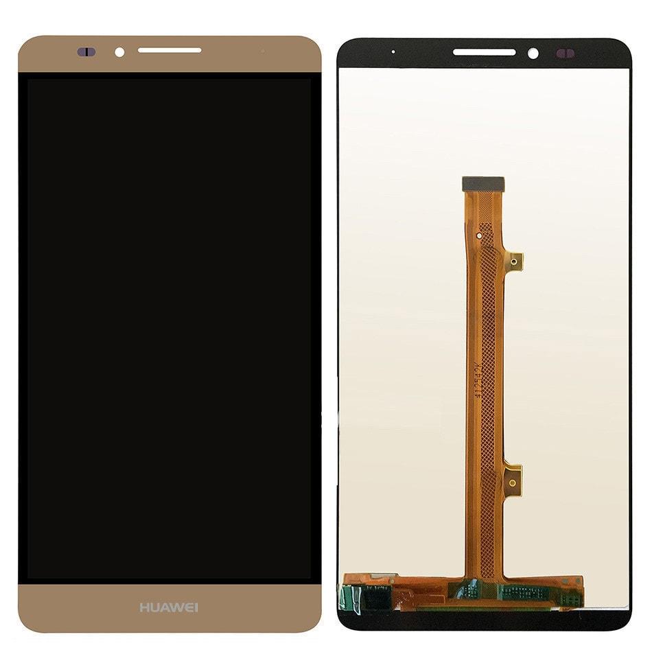 Huawei Mate 7 LCD displej zlatý + dotykové sklo komplet